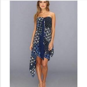 BCBCMaxAzria Enid Strapless Dress